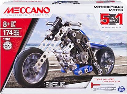 Image de MOTO - 5 MODELES Meccano