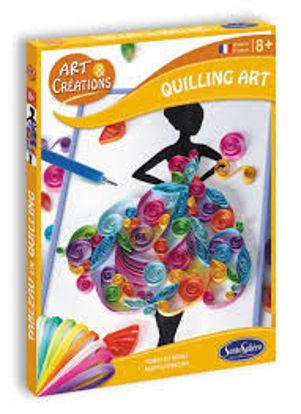 Image de Art & Créations QUILLING ART - ROBES DE REVE