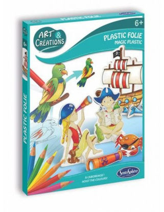 Image de ART & CREATIONS  PLASTIC FOLIE -PIRATES