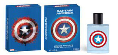 Image de Marvel Captain America Eau De Toilette 100ml