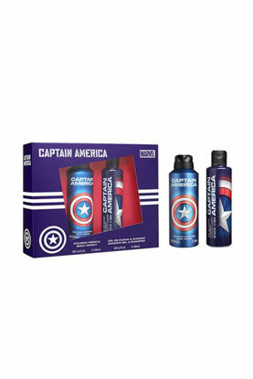 Image de MARVEL - BODY SPRAY + GEL DOUCHE - CAPTAIN AMERICA
