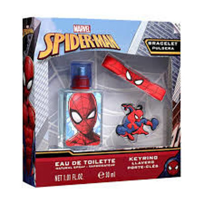 Image de Coffret spiderman eau de toilette 30 ml + porte cles