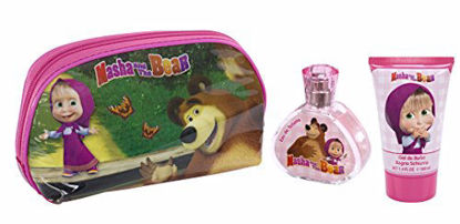 Image de Coffret eau de toilette 50 ml + Gel douche Masha and Bear