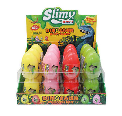 Image de Dinosaure Slimy Ei . 110 gr. Display (4 couleurs)