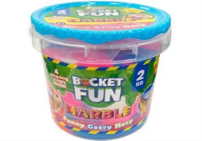 Image de Slimy Bucket Fun - 1 kg - Marble