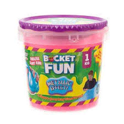 Image de Slimy Bucket Fun - 1 kg - Metallic Slimy