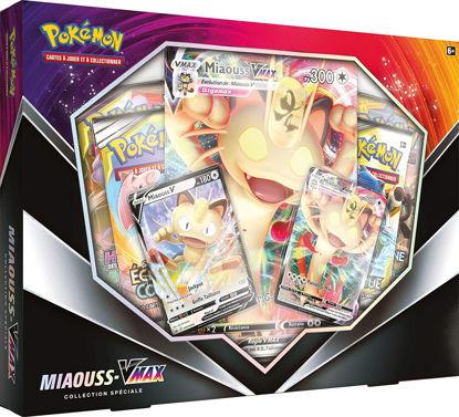 Image de Pokémon : Coffret Miaouss-VMAX Janvier 2020