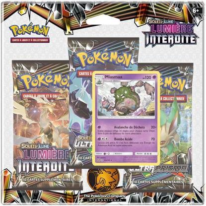 """Image de Pack 3 boosters Pokémon Soleil & Lune 6 """"Lumière Interdite"""""""
