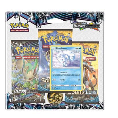 """Image de Pack 3 boosters Pokémon Soleil & Lune 5 """"Ultra-Prisme"""""""