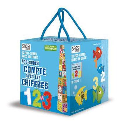 Image de Éco-Cubes Compte avec les Chiffres
