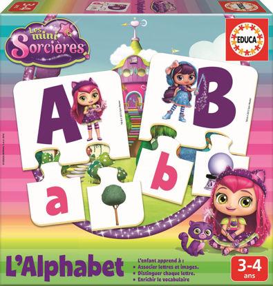 Image de EDUCA J'apprend l'alphabet Mini-sorcières 17219