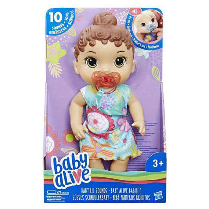 """Image de Baby Alive brunette """"Effets sonores"""" E3688"""