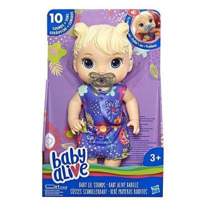 """Image de Baby Alive blonde """"Effets sonores"""" E3690"""