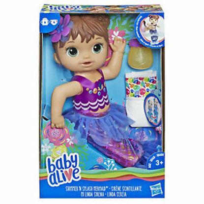 Image de Baby Alive Sirène Brunette E3691