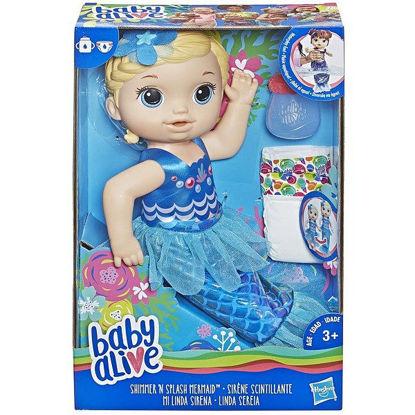 Image de Baby Alive Sirène Blonde E3693