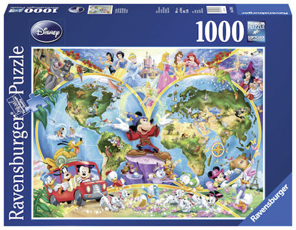 Image de Puzzle 1000pcs World Disney 15785