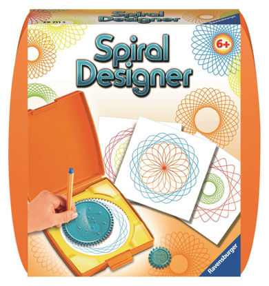 Image de Mini-Spiral Designer orange 29711