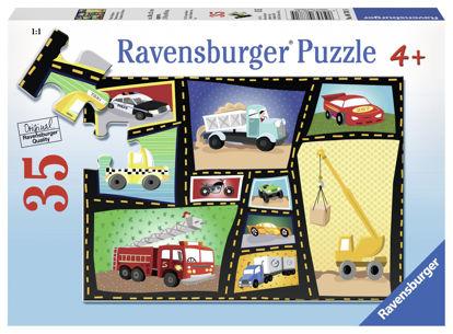 Image de Puzzle 35pcs Tires&Engines 08781