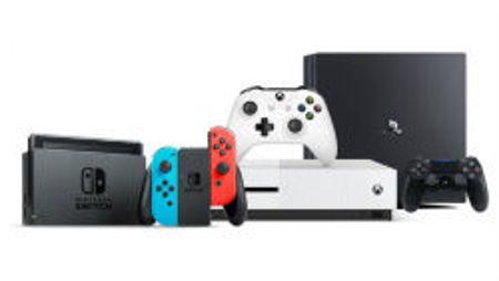 Image de la catégorie Console de jeux