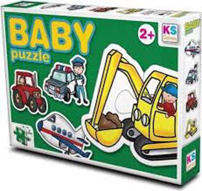 Image de Puzzle enfant les véhicules