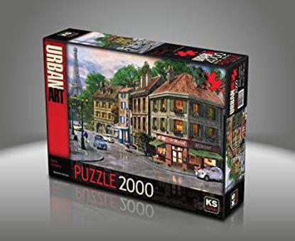 Image de Puzzle 2000 pc Rue de Paris