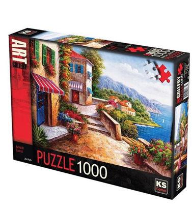 Image de Puzzle 1000 pcs maison sur colline