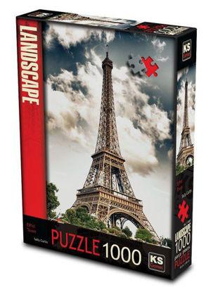 Image de puzzle 1000 pc la Tour Eiffel