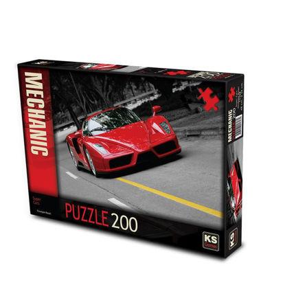 Image de Puzzle 200pcs Super car