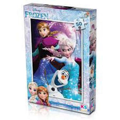 Image de Puzzle Frozen 50pcs
