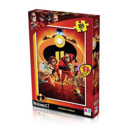 Image de Puzzle  Incredibles 100pcs