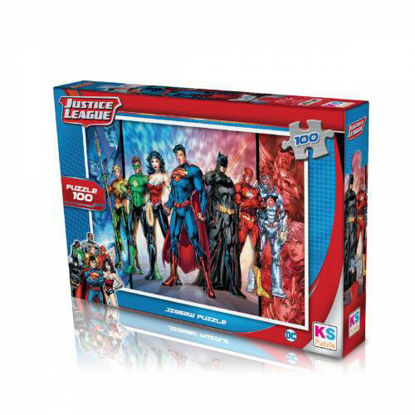 Image de Puzzle  Justice league 100pcs