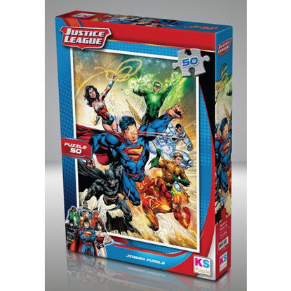 Image de Puzzle  Justice league 50pcs