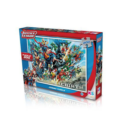 Image de Puzzle  Justice league 200pcs