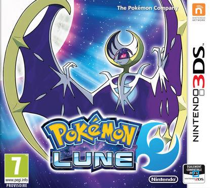 Image de JEU 3DS POKEMON LUNE
