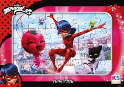 Image de Puzzle Miraculous 24pcs