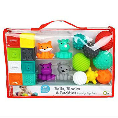 Image de BALLS, BLOCKS & BUDDIES ACTIVITY TOY SET