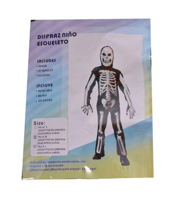 Image de Déguisement Squelette.  Taille: S/ M/ L