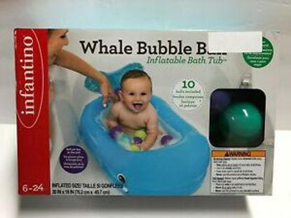 Image de WHALE BUBBLE BALL INFLATABLE BATH TUB (10L)
