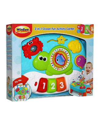 Image de 2-IN-1 OCEAN FUN AVTIVITY CENTERE