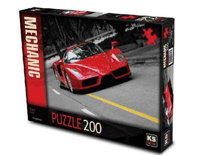 Image de PUZZLE 200PCS SUPER CAR