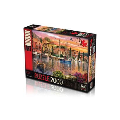 Image de puzzle2000 harbour sunset