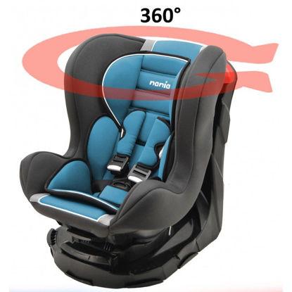 Image de Siege auto revo 360° petrole pivotant 0-18kg