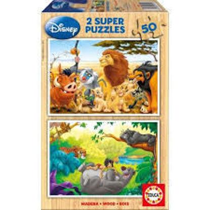 Image de Puzzle 2x50 Animal friends 13144