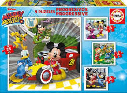 Image de EDUCA Puzzle Progressifs Mickey 17629