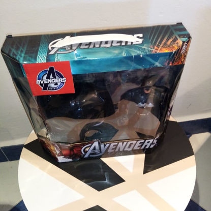 Image de masque batman avec figurine