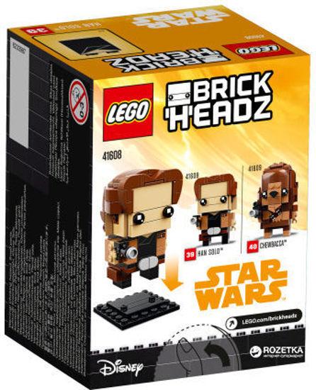 Image de S.W Brick Headz Han Solo