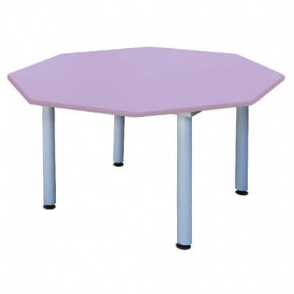 Image de TABLE MATERNELLE  hexa pvc120*52 cm