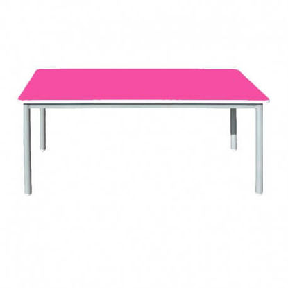 Image de TABLE MATERNELLE RECTANGULAIRE L:120;P:80;H:52cm