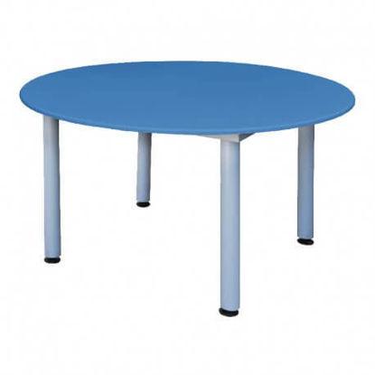 Image de TABLE MATERNELLE RONDE PVC D120;H52cm