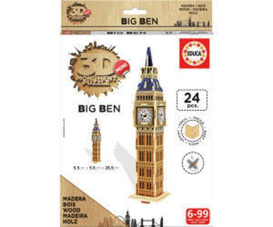 Image de Puzzle bois 24pcs 3D Big Ben Mini 17304